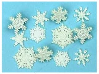 Jesse James Embellishments Fresh Snow