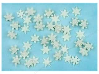 Jesse James Embellishments Itty Bitty Snowflakes
