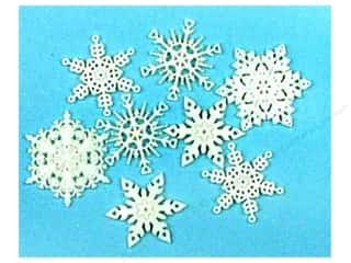 Jesse James Buttons Scrapbooking: Jesse James Dress It Up Embellishments New Fallen Snow