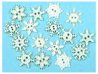 Jesse James Embellishments Sew Thru Snowflakes