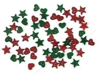 Hearts $4 - $6: Jesse James Dress It Up Embellishments Christmas Collection Christmas Garland