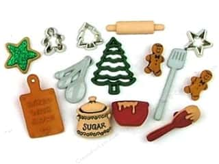 Jesse James Embellishments Christmas Cookies