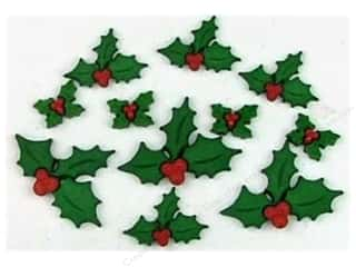 Craft Embellishments: Jesse James Dress It Up Embellishments Holly Jolly Christmas