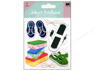 3 Pairs: Jolee's Boutique Stickers Shoe Sizing