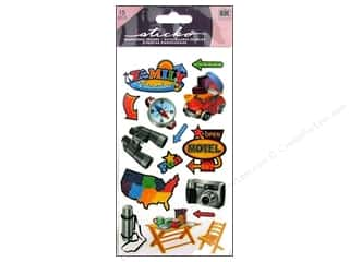 Vacations: EK Sticko Stickers Family Vacation