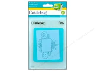 Embossing Aids All-American Crafts: Provo Cuttlebug Emboss A2 Flourished Frame