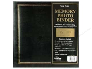 "Pioneer Scrapbook 3 Ring Binder 8.5""x 11"" Black"
