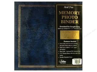 "Pioneer Scrapbook 3 Ring Binder 8.5""x 11"" Navy"
