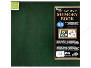"Pioneer Photo Album Inc Photo Albums & Scrapbooks: Pioneer Scrapbook 12""x12"" Leatherette Hunter Green"