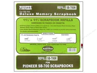 Pioneer Scrapbook Refill Page 11.25x11.75 White