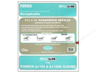 "Pioneer Photo Album Inc Blue: Pioneer Refill Page Scrapbook 11.75""x 14"" Buff 25pc"