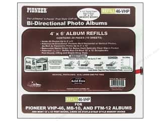 "Pioneer Photo Album Inc Pioneer Refill Page: Pioneer Refill Page Scrapbook 12""x 12"" with 4""x 6"" Pocket 5pc bi Directional"