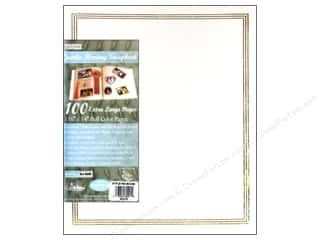"Pioneer Photo Album Inc Glues/Adhesives: Pioneer Scrapbook 11.75""x 14"" Jumbo White 100pg"