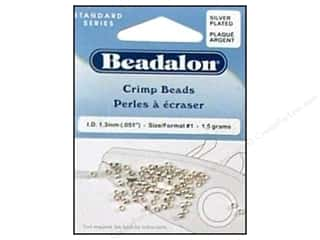 Beadalon Crimp Bead 2.0mm Silver 1.5gm