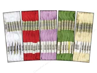 Amazon.com: 100 Skeins of Silky Variegated Hand Embroidery Floss