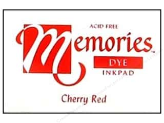 Superior Memories Dye Inkpad Large Cherry Red