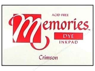 Superior Memories Dye Inkpad Large Crimson