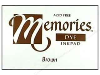 Dyes $1 - $4: Stewart Superior Memories Dye Inkpad Large Brown