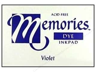 Superior Memories Dye Inkpad Large Violet