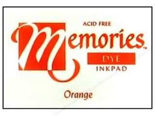 Superior Memories Dye Inkpad Large Orange