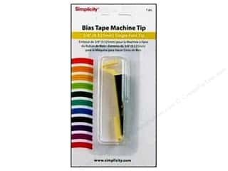 Simplicity Bias Tape Maker Single Fold Tip 3/8&quot;