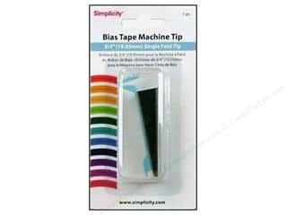 simplicity bias: Simplicity Bias Tape Maker Single Fold Tip 3/4""