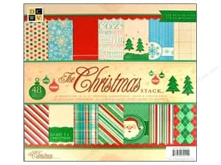 DieCuts 12 x 12 in. Paper Stack Christmas