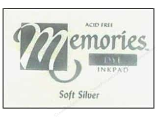 Superior Memories Dye Inkpad Large Soft Silver