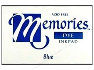 Superior Memories Dye Inkpad Large Blue