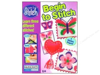 Colorbok Learn To Stitch Kit Begin Deluxe Heart