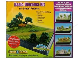 Clearance Blumenthal Favorite Findings: Scene-A-Rama Kits Diorama Basic
