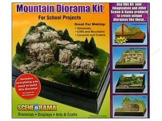 Scene-A-Rama Kits Diorama Mountain