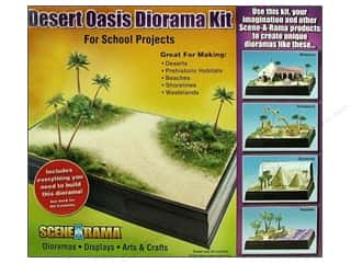 Scene-A-Rama Kits Diorama Desert Oasis