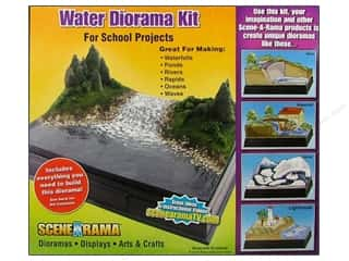 Outdoors Basic Components: Scene-A-Rama Kits Diorama Water