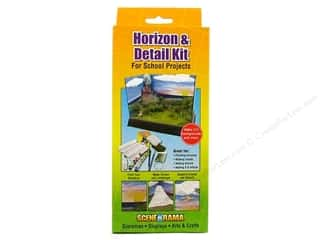 Outdoors Basic Components: Scene-A-Rama Kits Horizon & Detail