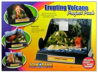 Holiday Gift Idea Sale $0-$10: Scene-A-Rama Project Pack Erupting Volcano