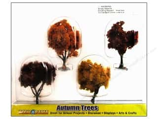 Scene-A-Rama Miniature Trees Autumn