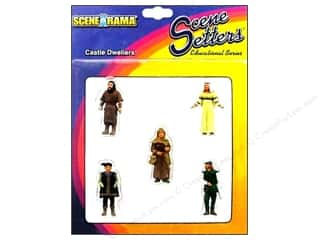 Scenics Clearance Crafts: Scene-A-Rama Miniature Castle Dweller