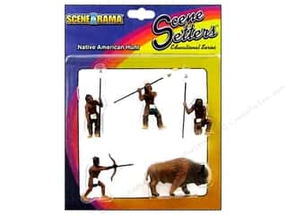 Scene-A-Rama Miniature Native American Hunt