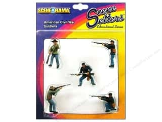 Scene-A-Rama Miniature Civil War Soldiers