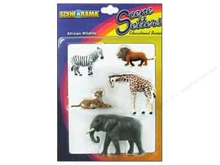 Scene-A-Rama Miniature African Wildlife