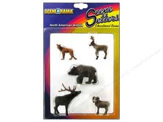 Clearance Blumenthal Favorite Findings: Scene-A-Rama Miniature N American Wildlife