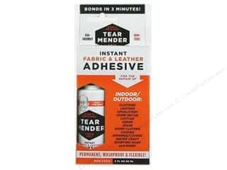 Leatherwork Clear: Val-A Tear Mender Adhesive Fabric & Leather 2oz