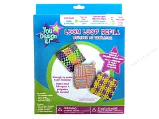 Colorbok Colorbok You Design It Kit: Colorbok You Design It Weaving Loom Loops Refills