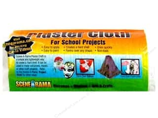 Scene-A-Rama Plaster Plaster Cloth 8.5&quot;x 11&quot;