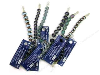 "Blue Moon  Bead Shop Bead Strand 4"" Cathedral Prp"