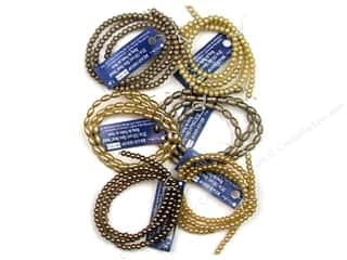 "Blue Moon Bead Shop Bead Strand 20"" Gls Pearl Top"