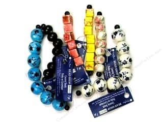 Beading &amp; Jewelry Making Supplies: Blue Moon Bead Shop Bead Strand Ceramic Multi