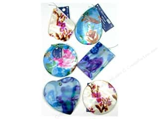 Blue Moon Pendant Bead Shop Shell/Mop #1 Multi