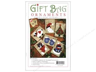 Projects & Kits Christmas: Rachel's Of Greenfield Kits Gift Bag Ornament
